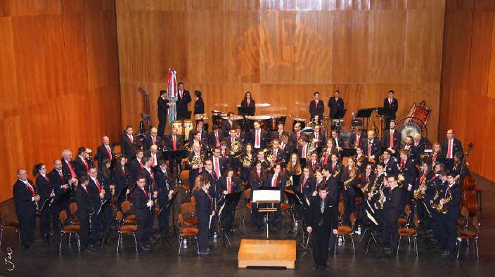Concierto de la Banda el 24 de noviembre de 2012