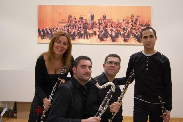 "Cuarteto de clarinetes ""Clarinet Class"""