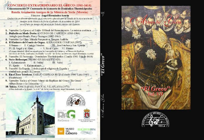 """Colección """"Aires de Yecla"""" Vol. 7: El Greco"""