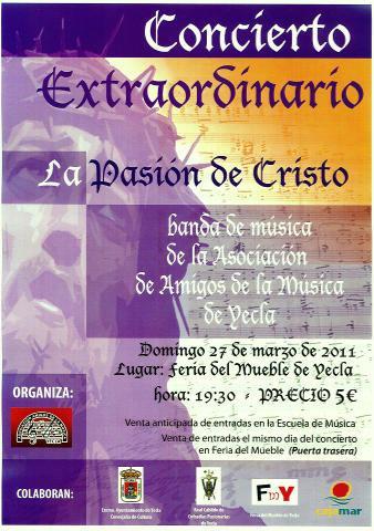 La Pasión de Cristo emociona a los yeclanos