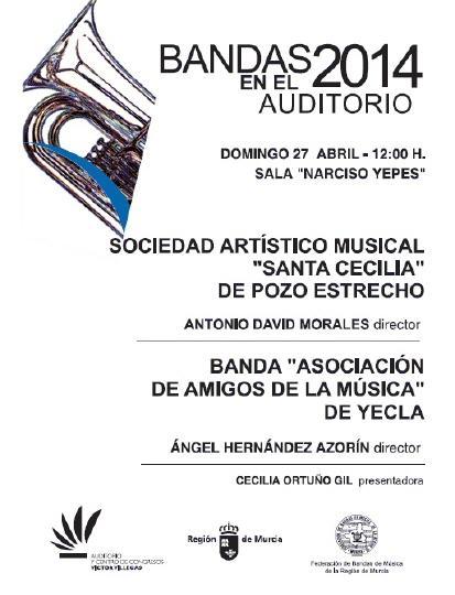 Bandas en el Auditorio 2014